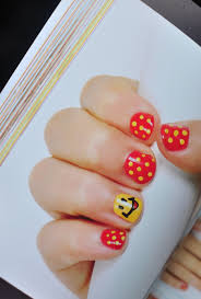 perspective of nail art for girls