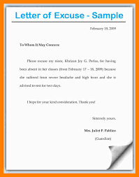 Sample Formal Resume by Formal Excuse Letter Example Excuse Letter Doctors Notes 11 Jpg 5