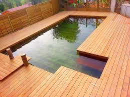 jacuzzi bois exterieur pour terrasse aménagement de terrasse décoration d u0027extérieur en bois