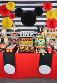 mickey mouse decorations mickey mouse birthday decorations party modernist