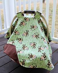 Carseat Canopy For Boy by Sew Sweet Gallery