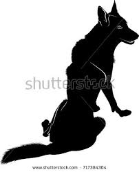 belgian shepherd silhouette breakdance silhouette break dance stock vector 144482062