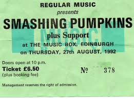 Thirty Three Smashing Pumpkins by Smashing Pumpkins Ticket Collector