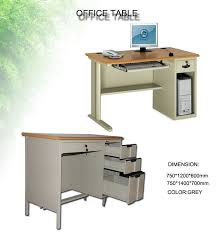 Smart Office Desk Combination Executive Office Table Metal Library Furniture Reading