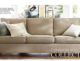 Pb Comfort Sofa Sleek Rolled Arm Small Living Room Furniture 2 Removable Back