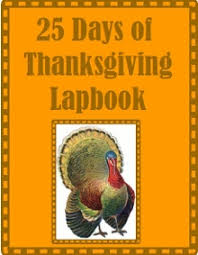 25 days of thanksgiving lapbook the whole word publishing