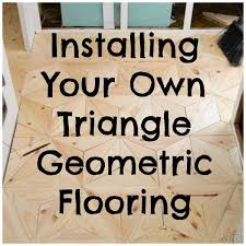 cost to have hardwood floors installed how to install your own low cost geometric wood flooring u2013 home