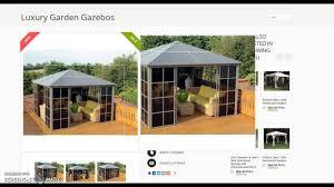 Gazebo Screen House by Four Seasons Screen House Youtube