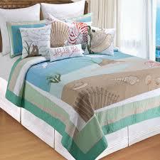 whispering sands coastal quilt bedding