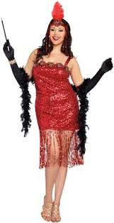 Halloween 1920s Costumes Shop 1920s Size Dresses Costumes