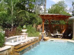 Backyard Pool Landscaping by Landscape Backyard Ideas Zamp Co