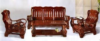Pure Teak Wood Stylish Sofa Set India Wood Factory Kolkata ID - Teak wood sofa sets