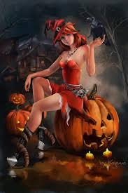 halloween witch by kajenna on deviantart