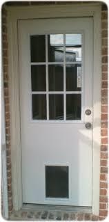 Exterior Cat Door Exterior Door With Built In Pet Door Pet Ready Xpd50 Door Free