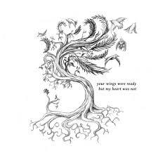 roots tree feathers and birds u2014 isaac trujillo sr art