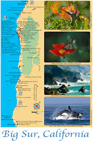 Hummingbird Map Big Sur Map Big Sur California U2022 Mappery