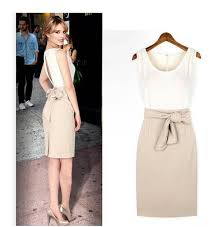 tight dress casual dresses 2017 japanese satin white party women