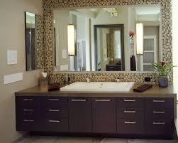 Custom Framed Bathroom Mirrors Bathroom Cabinets Mosaic Ceramic Glass Mirror Frame Within