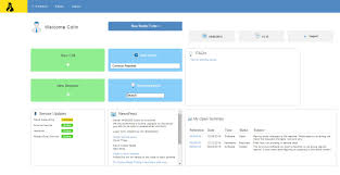 helpdesk or help desk self service portal for customer call log house on the hill
