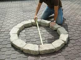 backyard stone fire pit tips outdoor fire pit kits wood burning fire pit kit stone