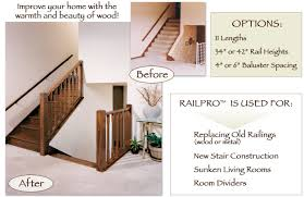 Premade Banister Railpro