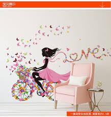 Aliexpress Home Decor Aliexpress Com Buy Diy Wall Stickers Home Decor Pink Princess