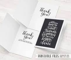 business thank you cards business thank you card small business cards printable thank