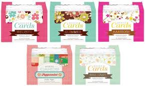 american crafts studio introducing new thickers boxed cards