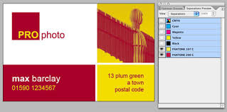 indesign files how to set up business card layout design for press