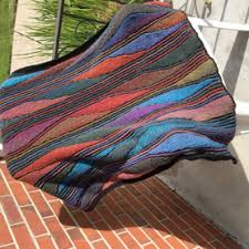 knit the northern lights blanket 2 of 2 with saundra fowler