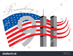 What Does The American Flag Look Like Remember 911 World Trade Center American Stock Vector 56259232