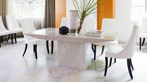 Elba Rectangular Dining Table Dining Furniture Harvey Norman - Marble dining room furniture