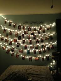 Hanging String Lights by 12 Cool Ways To Put Up Christmas Lights In Your Bedroom