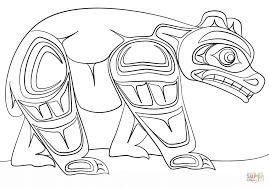 free printable art and culture canadian aboriginal art coloring
