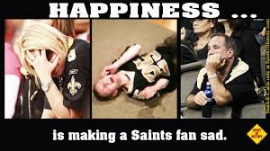 New Orleans Saints Memes - happiness is making new orleans saints fans sad sport of history