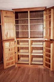 Free Standing Wooden Shelving Plans by Free Images Of Large Kitchen Pantry Google Search Plans