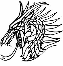 printable 21 dragon head coloring pages 4216 dragon coloring
