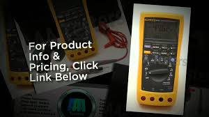 fluke 89 iv true rms digital multimeter youtube