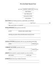 Resume Templates Copy And Paste Free Printable Resume Builder Templates Resume Template And