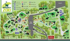 chicago zoo map popular 275 list lincoln park zoo map