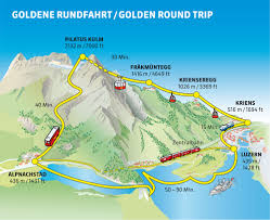 Cable Car Map Photo Story The Golden Round Trip To Pilatus Lucerne