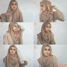 simple hijab styles tutorial segi empat tutorial hijab segi empat simple hijab tutorial pinterest