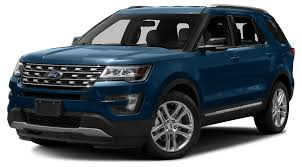Ford Explorer Blue - 2017 ford explorer xlt 4 wheel drive with navigation in canyon