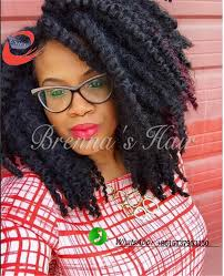 Curly Hair Braid Extensions by 30 Strands Piece Silk Afro Twist Crochet Braid Hair Extensions