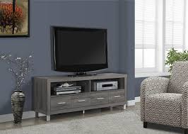 corner tv stands for 60 inch tv amazon com monarch specialties dark taupe reclaimed look tv