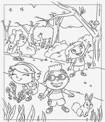 little einsteins coloring pages coloringsuite com