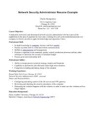 Database Administrator Resume Objective Cisco Certified Network Engineer Sample Resume Resume Specialist