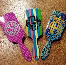 monogramed items 100 best hairbrush saç taraği craft images on hair