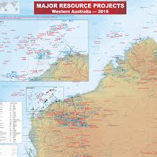 Resource Map New 2016 Major Resource Projects Map Now Available