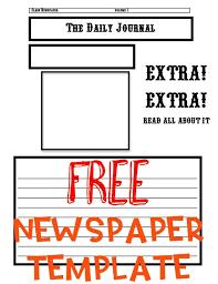 as 25 melhores ideias de newspaper article template no pinterest
